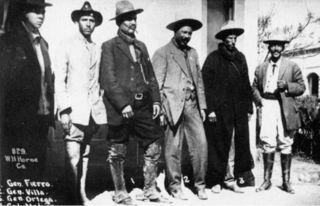 Pancho villa and friends 1913